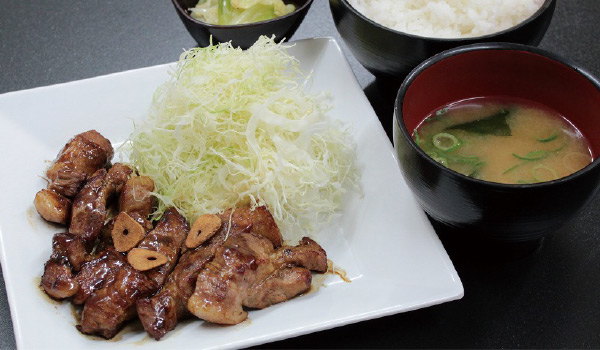 トンテキ定食画像