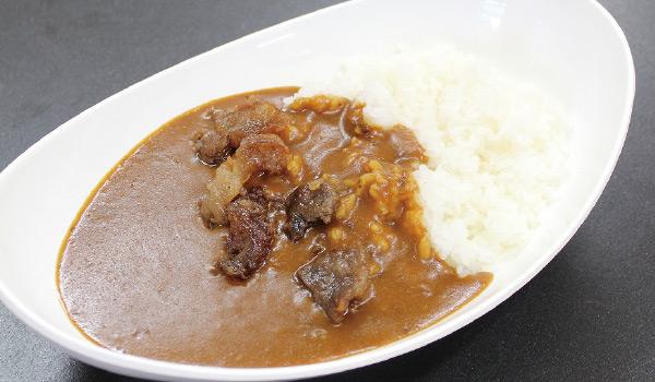 近江牛すじ煮カレー画像