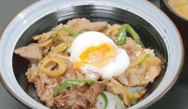 近江牛丼(温玉のせ)画像