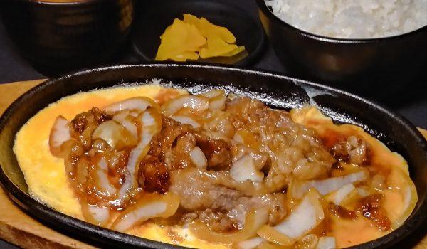 近江牛鉄板焼き定食画像
